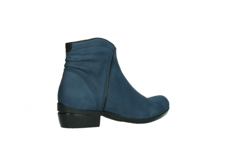 wolky ankle boots 00952 winchester 13800 blue nubuckleather_23