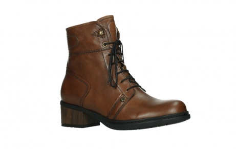 wolky lace up boots 01260 red deer 20430 cognac leather_3