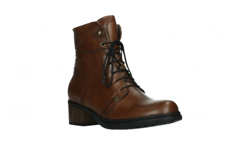wolky lace up boots 01260 red deer 20430 cognac leather_4