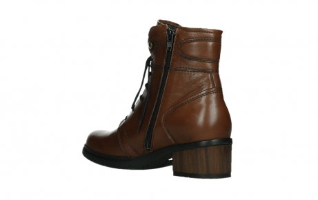 wolky lace up boots 01260 red deer 20430 cognac leather_16