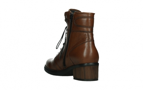wolky lace up boots 01260 red deer 20430 cognac leather_17