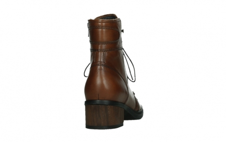 wolky lace up boots 01260 red deer 20430 cognac leather_20