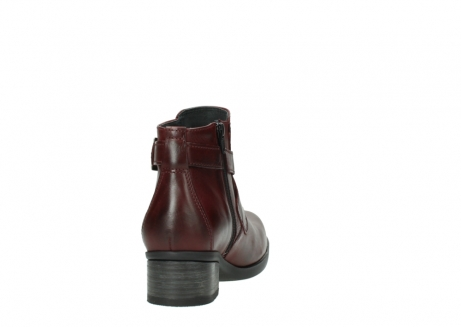 wolky ankle boots 01375 vecchio 30512 bordo leather_8