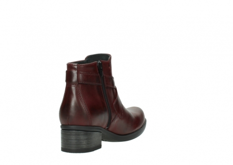 wolky ankle boots 01375 vecchio 30512 bordo leather_9