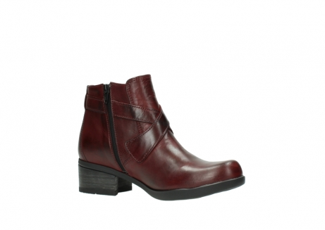 wolky ankle boots 01375 vecchio 30512 bordo leather_15