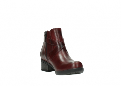 wolky ankle boots 01375 vecchio 30512 bordo leather_17
