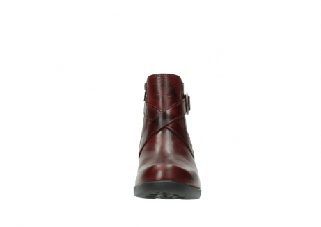 wolky ankle boots 01375 vecchio 30512 bordo leather_19