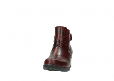 wolky ankle boots 01375 vecchio 30512 bordo leather_20