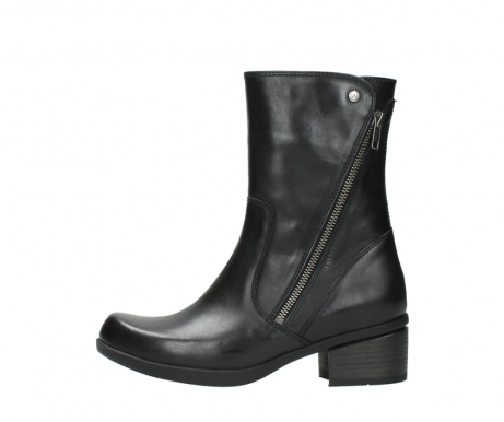 wolky mid calf boots 01376 rialto 30002 black leather_1