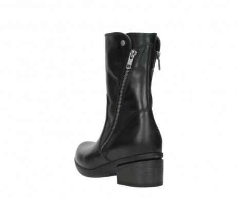 wolky mid calf boots 01376 rialto 30002 black leather_5
