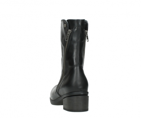 wolky mid calf boots 01376 rialto 30002 black leather_6