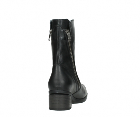 wolky mid calf boots 01376 rialto 30002 black leather_8