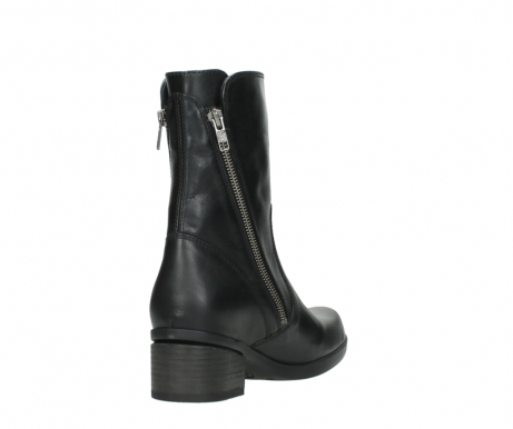 wolky mid calf boots 01376 rialto 30002 black leather_9
