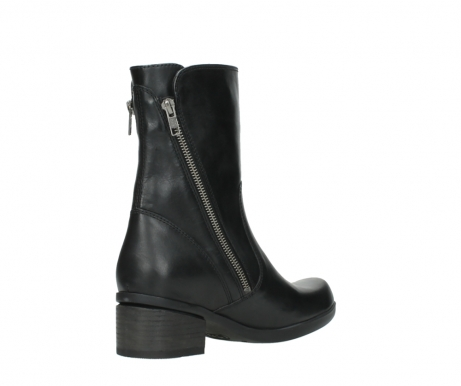 wolky mid calf boots 01376 rialto 30002 black leather_10