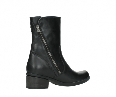 wolky mid calf boots 01376 rialto 30002 black leather_11