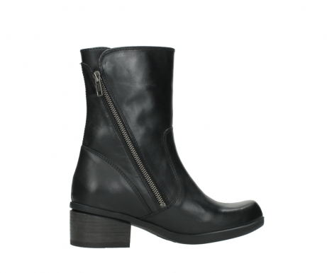 wolky mid calf boots 01376 rialto 30002 black leather_12