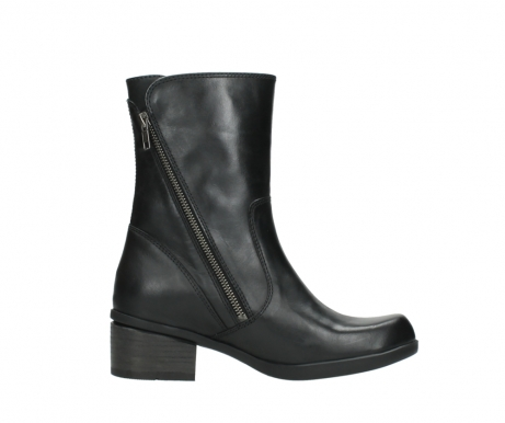 wolky mid calf boots 01376 rialto 30002 black leather_13
