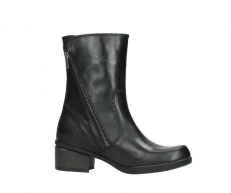 wolky mid calf boots 01376 rialto 30002 black leather_14