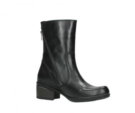 wolky mid calf boots 01376 rialto 30002 black leather_15