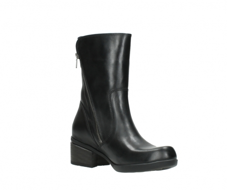 wolky mid calf boots 01376 rialto 30002 black leather_16