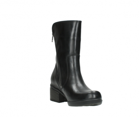 wolky mid calf boots 01376 rialto 30002 black leather_17