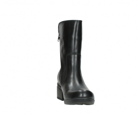 wolky mid calf boots 01376 rialto 30002 black leather_18