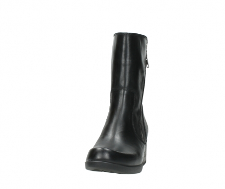 wolky mid calf boots 01376 rialto 30002 black leather_20
