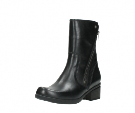 wolky mid calf boots 01376 rialto 30002 black leather_22