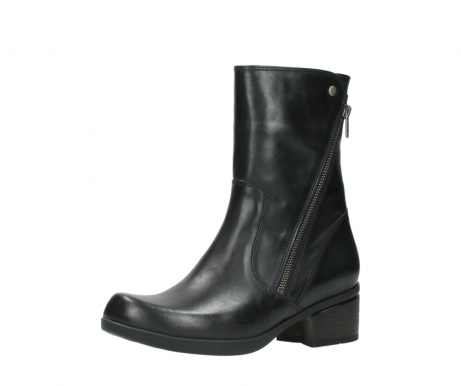 wolky mid calf boots 01376 rialto 30002 black leather_23
