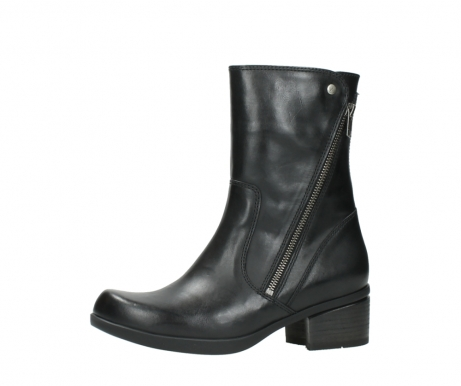 wolky mid calf boots 01376 rialto 30002 black leather_24
