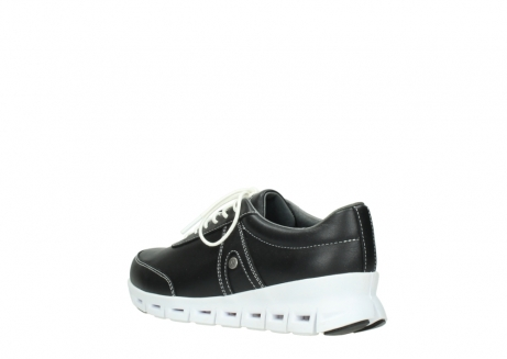 wolky lace up shoes 02050 nano 20000 black leather_4