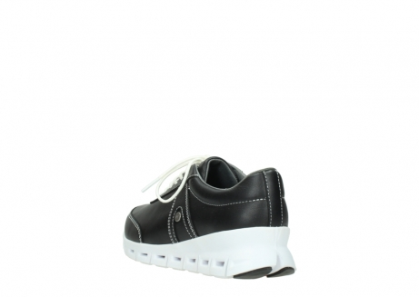 wolky lace up shoes 02050 nano 20000 black leather_5