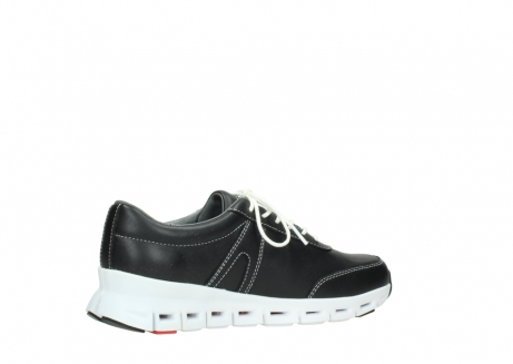 wolky lace up shoes 02050 nano 20000 black leather_11