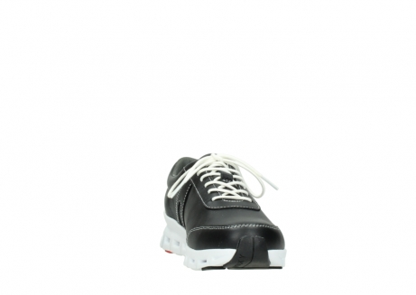 wolky lace up shoes 02050 nano 20000 black leather_18