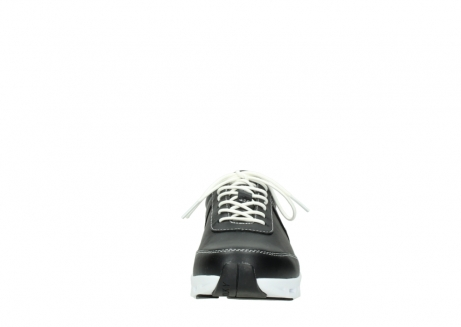 wolky lace up shoes 02050 nano 20000 black leather_19