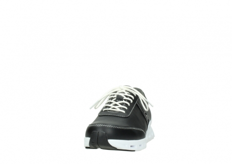 wolky lace up shoes 02050 nano 20000 black leather_20