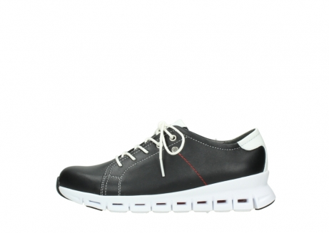 wolky sneakers 02051 mega 20000 black leather_1