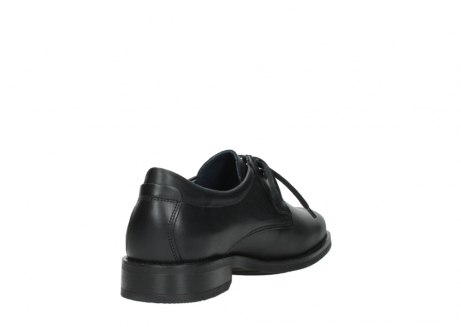 wolky lace up shoes 02180 santiago 31000 black leather_9