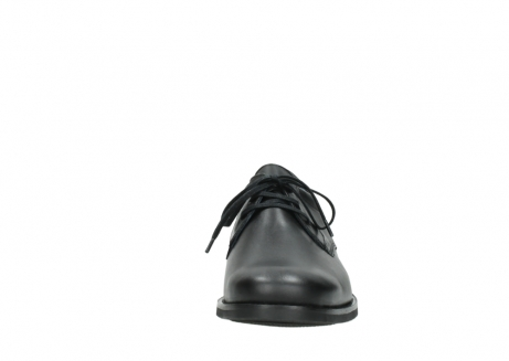 wolky lace up shoes 02180 santiago 31000 black leather_19