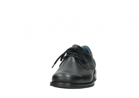 wolky lace up shoes 02180 santiago 31000 black leather_20