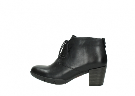 wolky lace up boots 03675 bighorn 30002 black leather_2