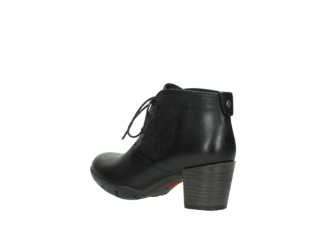 wolky lace up boots 03675 bighorn 30002 black leather_4
