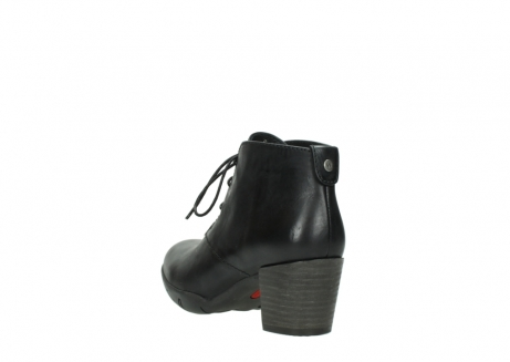 wolky lace up boots 03675 bighorn 30002 black leather_5