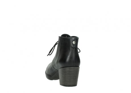 wolky lace up boots 03675 bighorn 30002 black leather_6