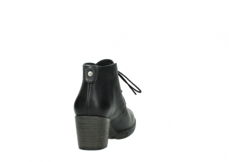 wolky lace up boots 03675 bighorn 30002 black leather_8