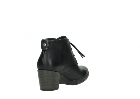 wolky lace up boots 03675 bighorn 30002 black leather_9