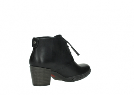 wolky lace up boots 03675 bighorn 30002 black leather_10