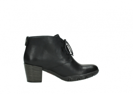 wolky lace up boots 03675 bighorn 30002 black leather_12