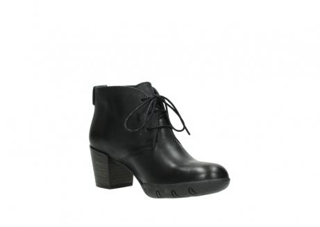 wolky lace up boots 03675 bighorn 30002 black leather_16
