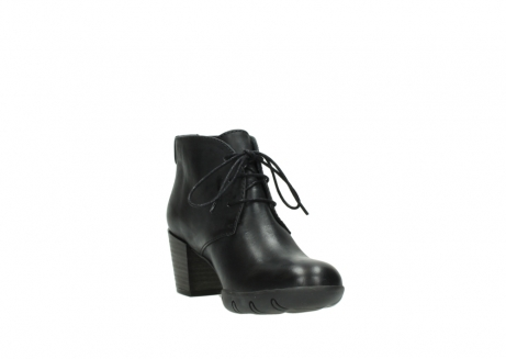 wolky lace up boots 03675 bighorn 30002 black leather_17